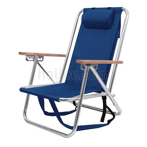 Deluxe Folding Aluminum Chair