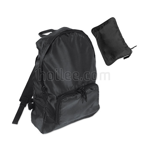 Backpack in Self-Pouch