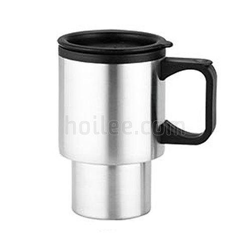 Outer Stainless Steel Plastic Mug 400ml