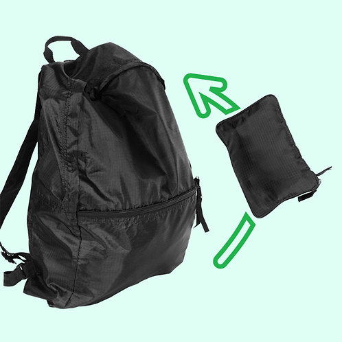 Big Backpack with Pouch