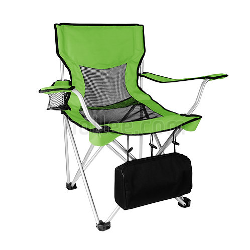 Folding Armchair w/ Cooler