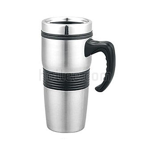 Outer Stainless Steel Plastic Mug 450ml