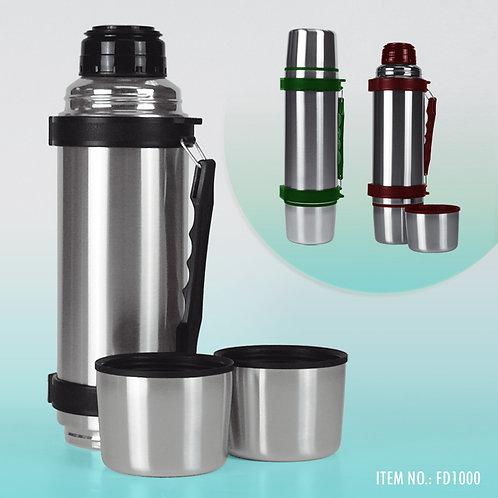 FD1000: 1L Thermal Bottle w/ 2 Cups