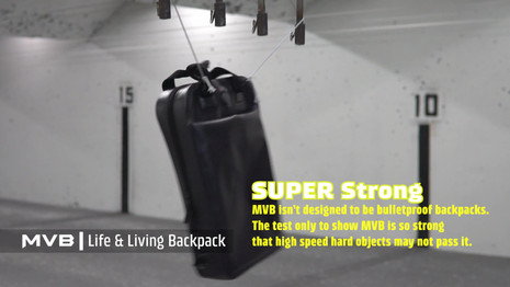 MVB SHIELD Edition backpack