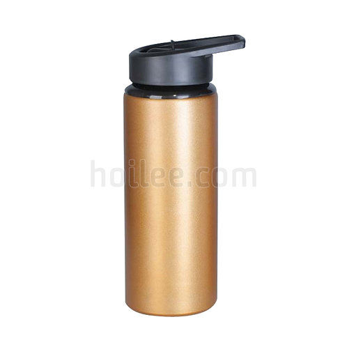 Aluminum Sports Bottle with Straw 750ml
