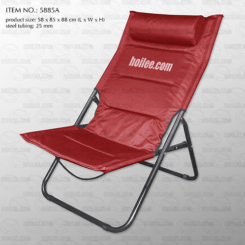 5885A: Foldable Relax Chair with Thick Padding