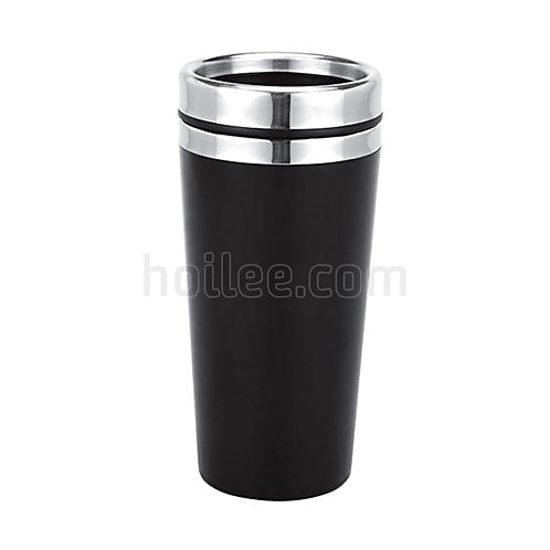 Outer Plastic Stainless Steel Bottle 450ml