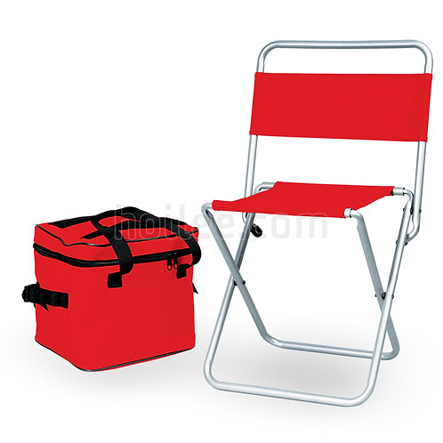 Chair w/ Detachable Soft Cooler
