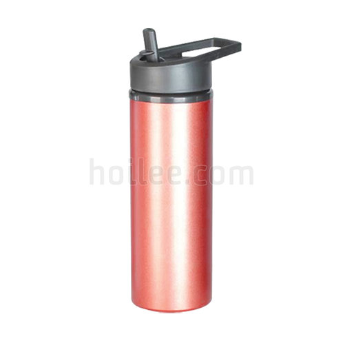 Aluminum Sports Bottle with Straw 500ml
