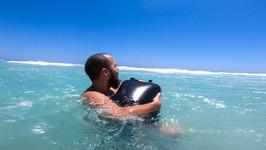 floating backpack
