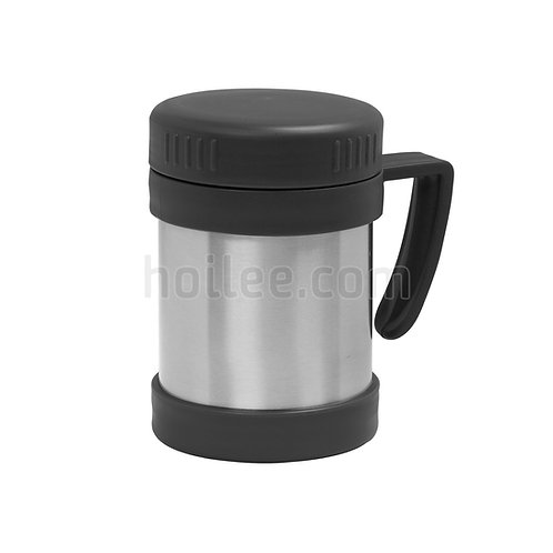 Thermal mug with screw cover