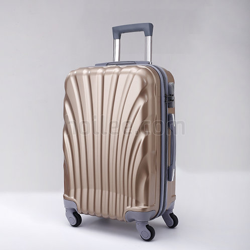 HL-0555: ABS Material Lightweight Hardside Luggage