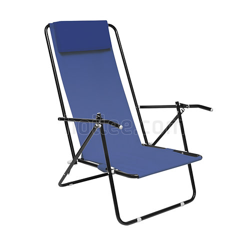 Beach Chair with Adjustable Backrest