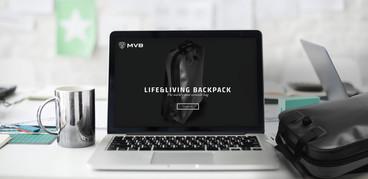 MVB laptop backpack
