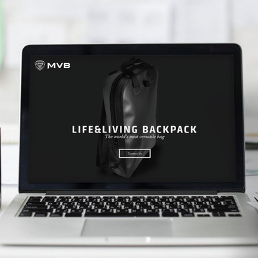 MVB laptop backpack