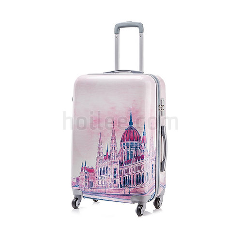 Printed Luggage