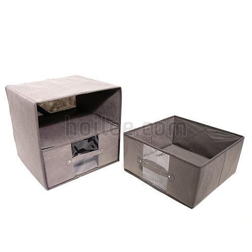 Foldable Storage Box with drawers