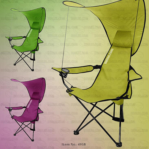 495B: Folding Chair with Canopy