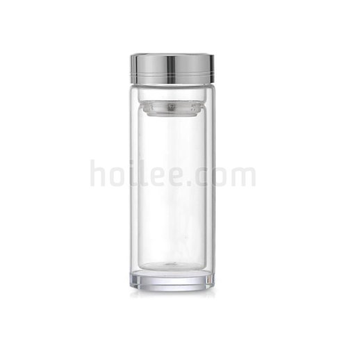 Tea Borosilicate Glass Water Bottle