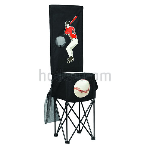 Baseball Game with Collapsible Cooler