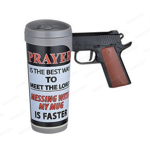 TS-1002: 450ml Plastic Mug with Gun handle