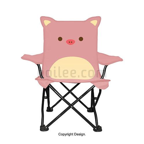 Kids Pig Quad Chair