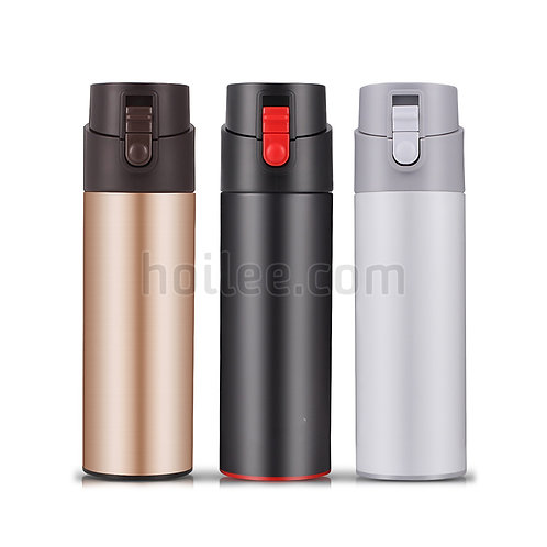 Push Button Lid Insulated Flask
