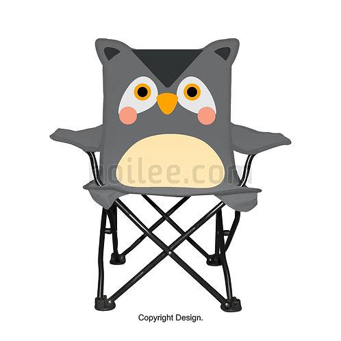 Kids Owl Quad Chair