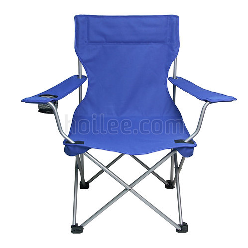 Folding Armchair with Drink Holder