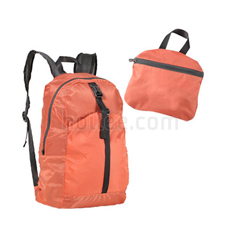 Backpack in Self Pouch