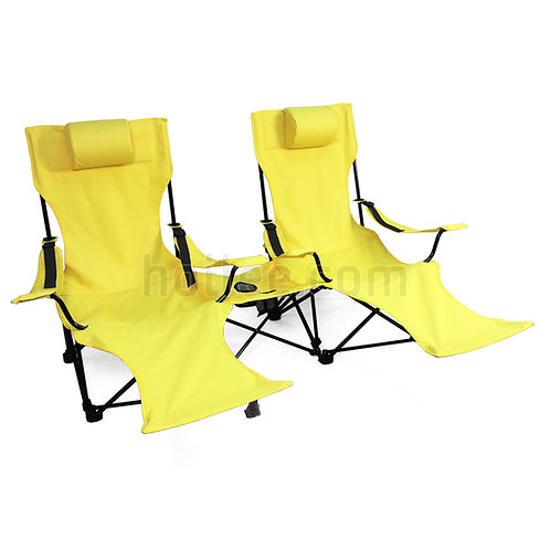 Double Seat Beach Lounger