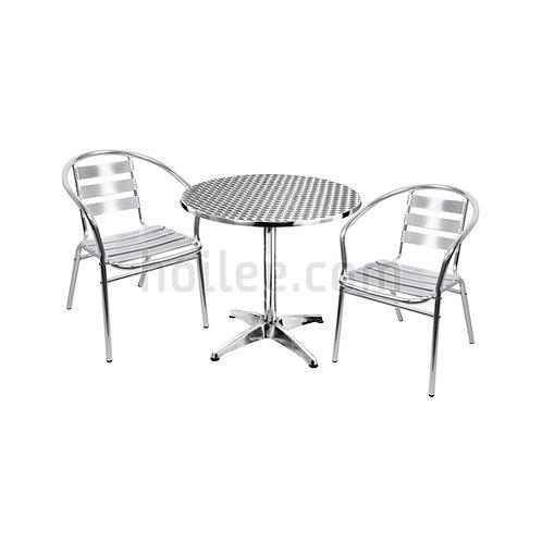 Aluminum Chair & Table Set