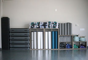 Equiptment in the Wellness Studio