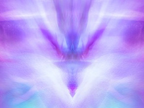 The healing effects the color Violet