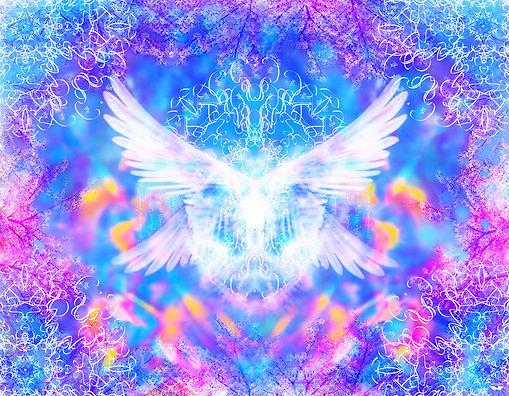 Angel of Atlantis Meditation Scarf