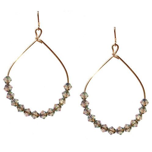 REED - Paradise Shine/Gold Filled Earrings