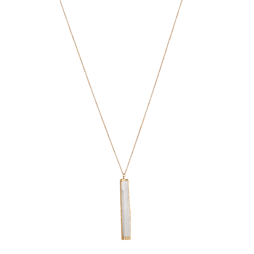 KENNEDY- Crystal/Gold Filled Necklace