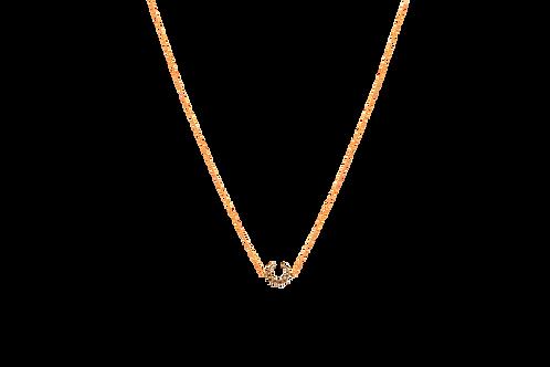 SAWYER- Swarovski Crystal/Gold Necklace