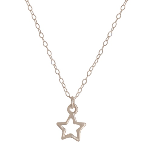 STAR - Sterling Silver Necklace