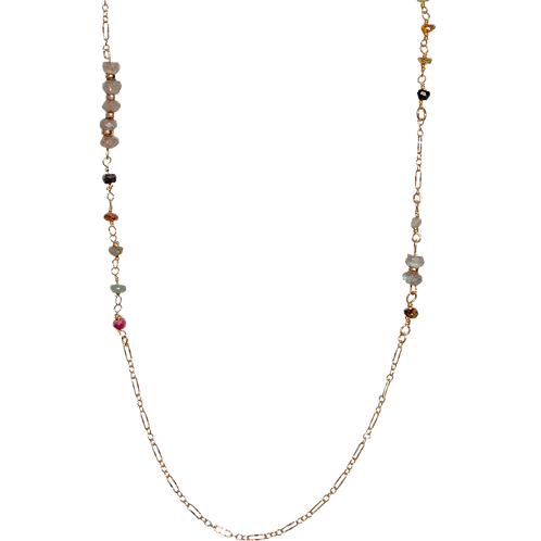 MISTY - Apatite/Gold Filled Necklace