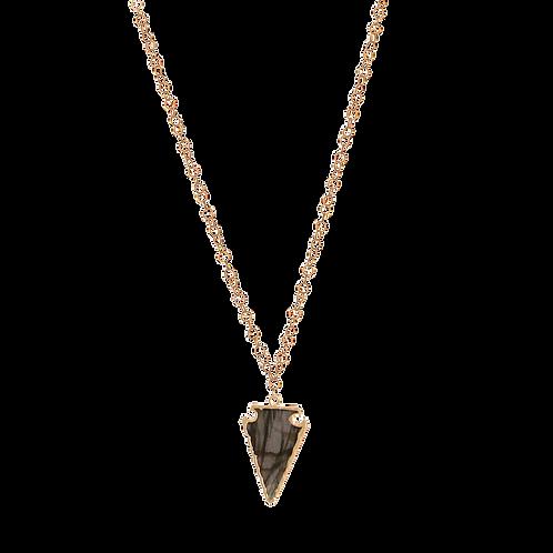 BROOKLYN- Labradorite/GF Necklace