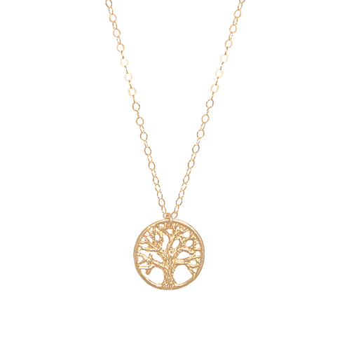 TREE OF LIFE Vermeil Necklace
