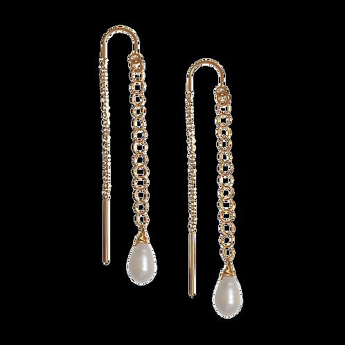 MARDELLE- Fresh Water Pearl Earrings