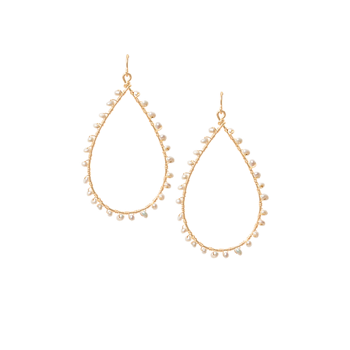 KNOX - Swarovski Pearl/Gold Filled Earrings