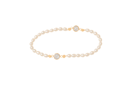 GIGI - Pearl/Gold Filled Bracelet