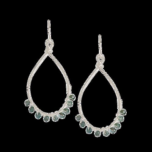TEMPEST- Kyanite/Sterling Silver Earrings