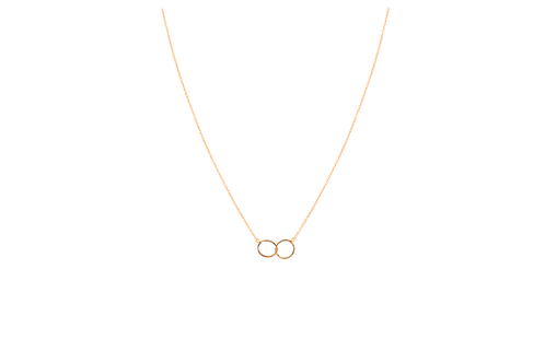 GRACE- Gold Filled Circle Necklace