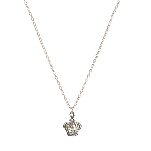 PRINCESS- Sterling Silver Charm Necklace