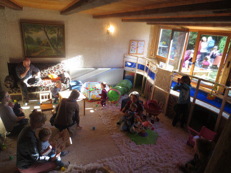 Kindercafé & Indoor-Spielplatz