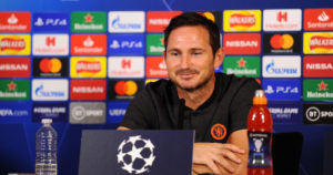 Very happy' Frank Lampard reacts to